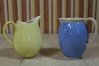 2 schöne alte Keramik Krüge Villeroy & Boch Dresden Bayern 50er 60er Vintage