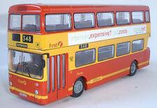 28603 EFE Leyland Atlantean GM Double Deck Bus First Pennine (PMT) 1:76 Diecast