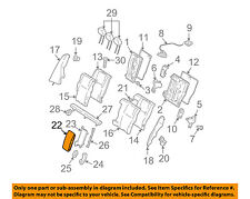 MERCEDES OEM 10-16 E350 Rear Seat-Armrest 20497003309D88