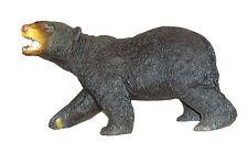 "AAA 53012 Large 13"" Black Bear Model Toy Animal Figurine Mascot Gift - NIP"