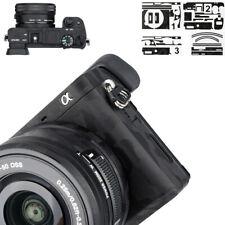 3M Camera Body Skin Film Cover Protector fr Sony A6100 A6400 A6300 +16-50mm Lens