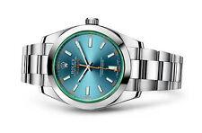 Armbanduhren mit verschraubter Krone aus Edelstahl für Erwachsene