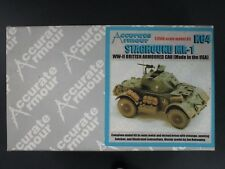 Accurate Armour 1/35th Scale Complete Resin Kit Staghound 1 Item No. K64