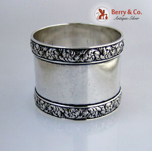 Tiffany And Company Sterling Silver Napkin Ring 1880