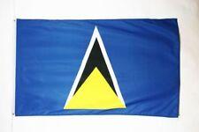 2x3 St. Lucia Flag 2'x3' House Banner Brass Grommets