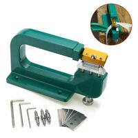 DIY Leather Splitter Skiver Paring Peeling Machine Edge Cut Skiving Craft Tool
