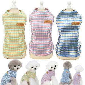 Herbst Hundekleidung Leichtgewicht Pullover Weste T-Shirt für Welpen Hunde Katze