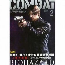 COMBAT BIOHAZARD JAPAN MILITARY MAGAZINE LEON ARMS RESIDENT EVIL ZOMBIE CAPCOM