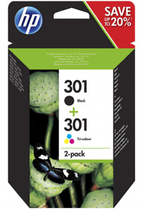 Genuine 301 Black and Colour Ink Cartridges