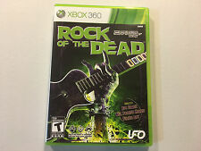 Xbox 360 Rock of the Dead Excellent Condition Complete Rob Zombie UFO Games