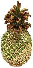 Bejeweled Große Willkommen Ananas Schmuckkästchen