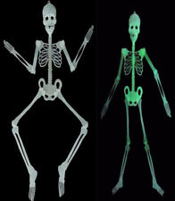Halloween Scary Prop Luminous Hanging Skeleton GlowDark Outdoor Party Decoration