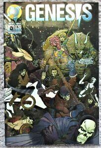 GENESIS #0 (Oct. 1993) Malibu Comics WRAPAROUND FOIL COVER George Perez NM-M