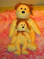 Ty Beanie Buddy and  Beanie Baby Huggy The Bears Both MWMT