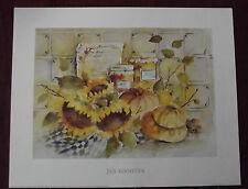 Jan Kooistra -Good Cooking Gemälde Bild 40x50cm Kunstdruck Sonnenblume Motiv I