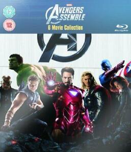 Marvel's The Avengers - 6-Disc Box Set [Blu-ray] [Region Free], Very Good DVD, D