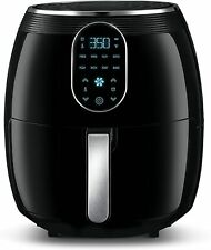 Gourmia GAF718 Digital Free Fry Air Fryer- No Oil Healthy Frying - 7 Qt- 1700 WT