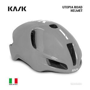 Kask UTOPIA Aero Road Cycling Helmet : ASH GREY