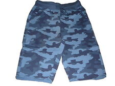 NEU Chapter Young tolle Sweat Shorts Gr. 158 / 164 blau gemustert !!