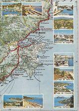 BF24469 de sainte maxime a cavalaire map cartes geogr   france  front/back image