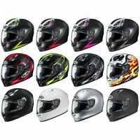 HJC FG-17  ST Motorcycle Street Helmet DOT & Snell - Pick Size & Color