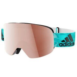 ADIDAS AD80/50 Backland Clear Aqua Ski Goggles , rrp: £159 ** Brand new **