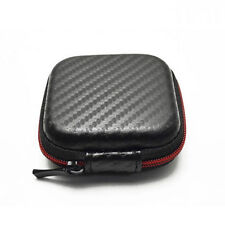 Cable Headphone Carry Storage Box Earbud Hard Case Travel Portable Bag B BB