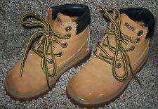 Skechers Work Boots-Mecca Bunkhouse Little Boys Size 11 Medium - Euc