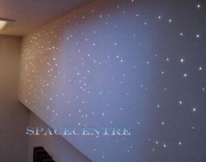 Colour Change Fibre Optic lighting kit home decoration night light celling light