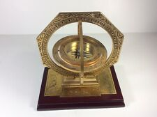 Brass Gimbal Maritime Mariner Compass Noble Collection Mariners