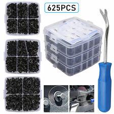 625Pcs Car Auto Push Retainer Clips & Plastic Fasteners Set for Gm Toyota Honda