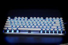 Magicforce 82 keys Cherry MX Brown Typewriter Cap Mechanical Keyboards Backlight