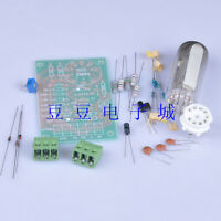 DIY Kits Magic Eye 6E2 EM87 6UH6 EM84 Tube Audio Indicator LOW Level Input