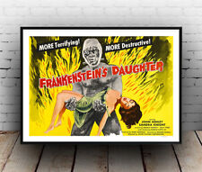 Frankensteins Daughter : Film Advertising  Poster reproduction