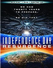 Independence Day, Resurgence (Blu-Ray+DVD) BRAND NEW, Musica Monette from Canada