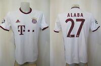 5+/5 Bayern Munich #27 Alaba 2016/2017 third Sz M Adidas shirt jersey trikot 3rd