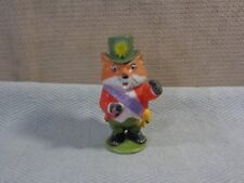 "VINTAGE 1976 Richard Scarry Mayor Fox Figure 2.5""  Playskool Puzzletown (VIN121)"