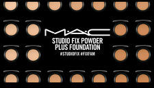 MAC Studio Fix Powder Plus Foundation CHOOSE YOUR SHADES  - NIB, 100% AUTHENTIC