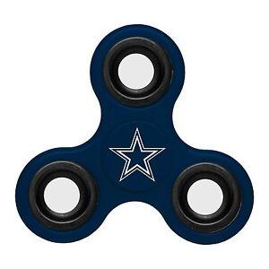 Dallas Cowboys Diztracto Spinner Logo 3-way Toy Stress Fidget Hand Finger