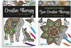 Mother's Day Premium Adult Colouring Books Creative Patterns and Animal -150gsm