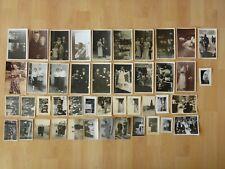 Konvolut Sammlung 44x altes Foto alte Fotos Menschen Personen Hochzeit 30er40er.