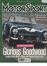 MOTOR SPORT  MAGAZINE  SEPTEMBER 2000  FULL REVIVAL MEETING PREVIEW   LS