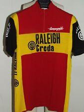 Maillot Vélo Haut Cyclisme Bibliotheque Erotique Vintage 70'S Raleigh Creda