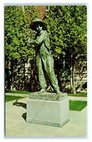 """Postcard """"Sand Lot Kid"""" Statue, Doubleday Field Cooperstown NY baseball J18"""