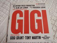 GOGI GRANT TONY MARTIN RCA EP 4258 SONGS FROM MOVIE 'GIGI'