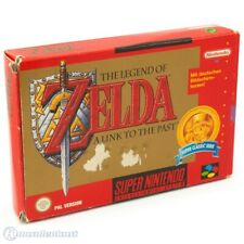 Nintendo SNES-Legend of Zelda: link to the Past [Classic] alemán con embalaje original