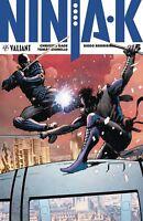Ninja-k #5 Valiant Comic Hairsine Main Cover 1st Print 2018 unread NM