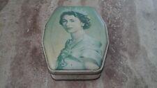 Vintage Queen Elizabeth 11 Coronation Commemoration Sweet Tin 1953 George Horner