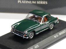 1/43ème  MG MIDGET Mk. IV 1969 AVEC HARD TOP British Racing Green - DETAILCARS