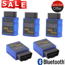 5X Vgate ELM327 Bluetooth Scan Tool OBD2 OBDII Scanner for TORQUE APP ANDROID LX